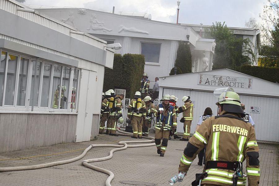 Brand in FKK Club Aphrodite-Villingen-Schwenningen