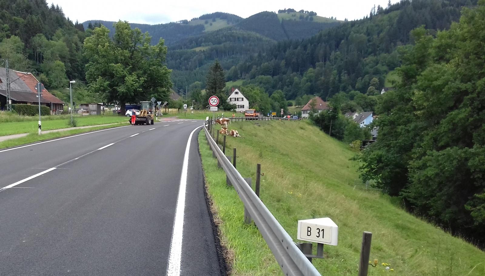 Verkehr Höllental